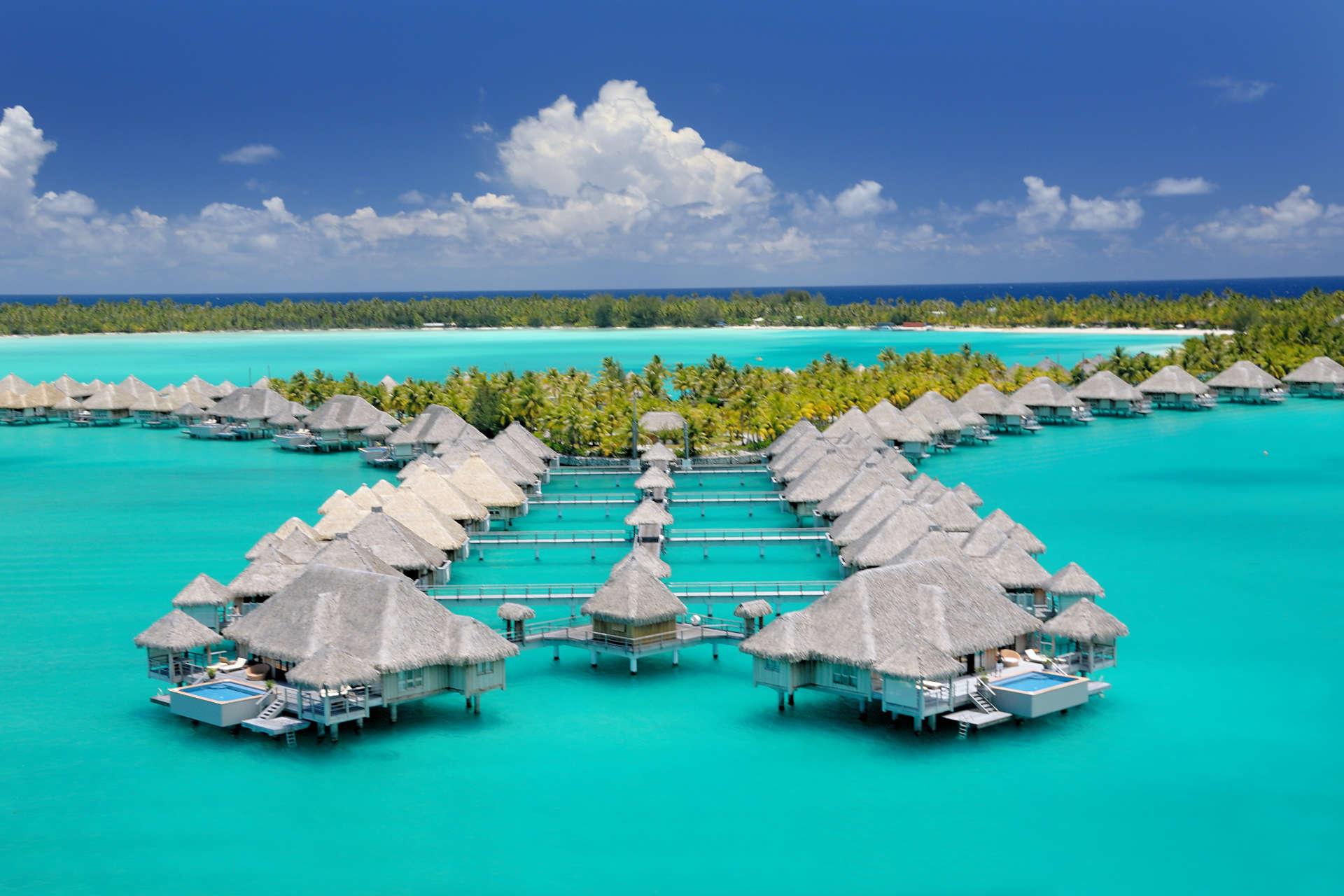 The St Regis Bora Bora Resort Borabora Island Com